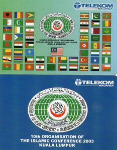 Malaysia-OIC-Phone-Card-1set-2pcs