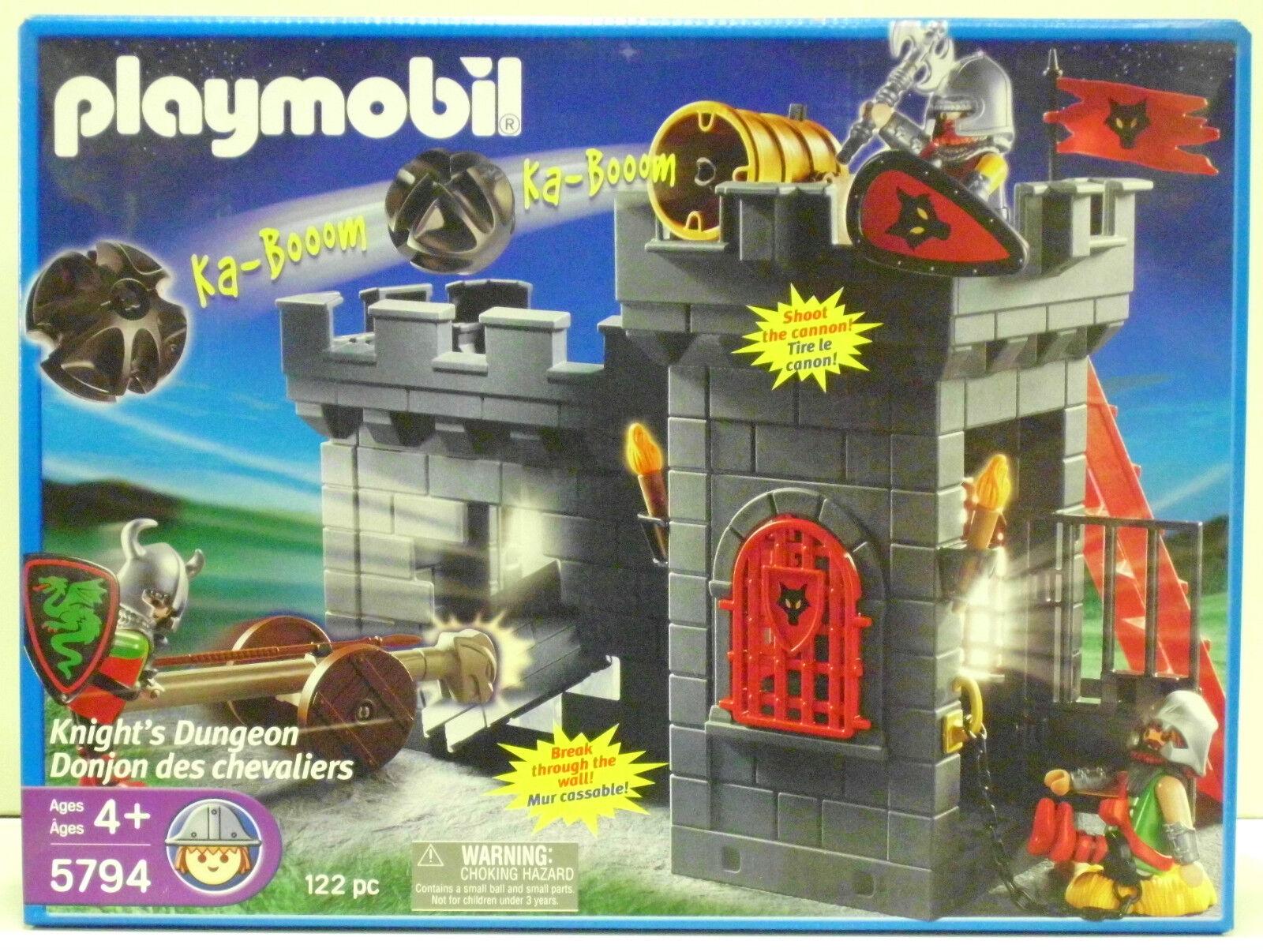 Knight´s DUNGEON USA USA USA Playmobil 5794 de `06 à Ritter château-fort dragon OVP Neuf 0d2d5a