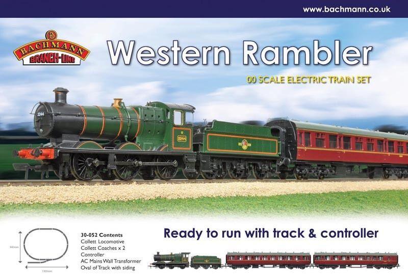 Bachmann Western Rambler OO gauge Trainset BNIB