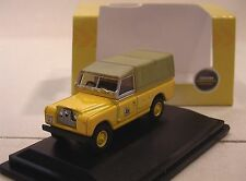 Land Rover Series ll LWB Canvas JCB    1:76 Oxford 76LAN2016