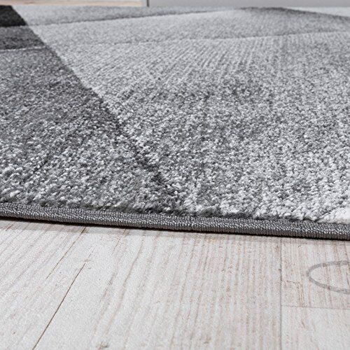 Moderno Alfombras Diseñador De De Diseñador Pila De Alfombra Gris Geométrico Salón Manta Alfombra Pequeño Grande 613ed7