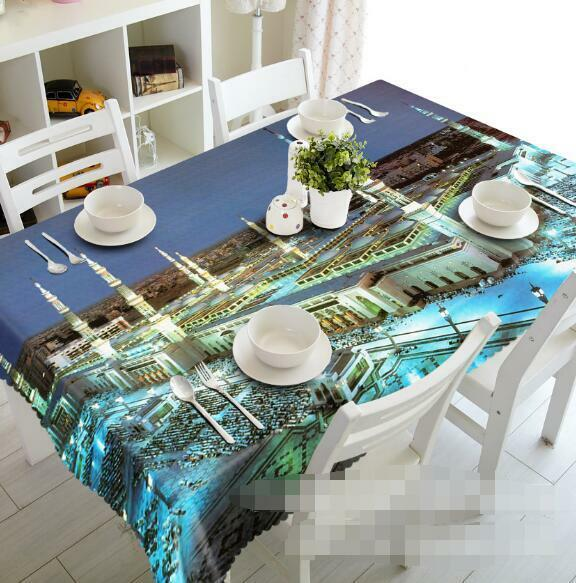 3D Grand Palace 5 Tablecloth Tablecloth Tablecloth Table Cover Cloth Birthday Party Event AJ WALLPAPER 1eb3de