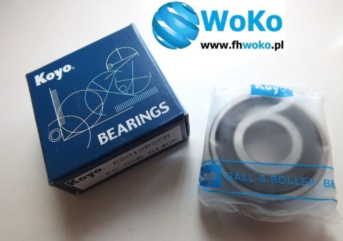 Bearing 6201 2RS 6201 2rs 6201RS 6201 2rs dimension 12x32x10 KOYO JAPAN