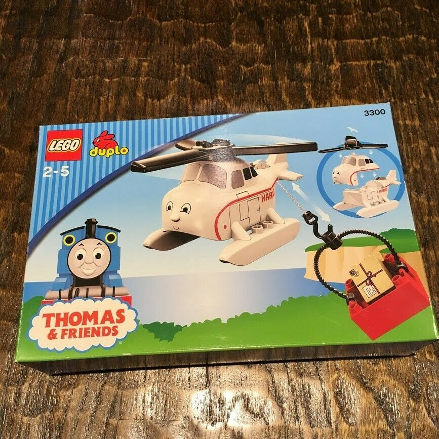 NEW LEGO DUPLO THOMAS & FRIENDS -    HAROLD THE HELICOPTER 3300 Age 2-5 e1b596