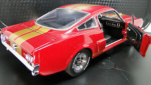 Ford-Mustang-1965-GT-Concept-SportsCar-Racecar-Rare-Vintage-1-18-Carousel-Red-40
