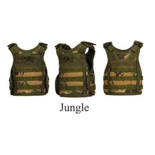 5239 5 Colors Beer Bottle Cover Cup Sleeve Vest Durable Mini Tactical Vest
