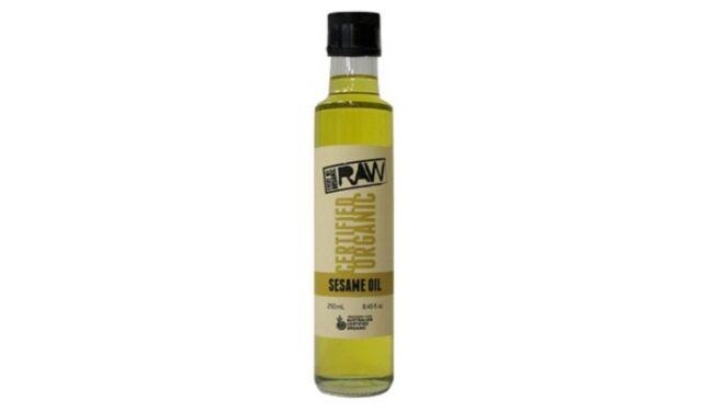 2 x 250ml EVERY BIT ORGANIC RAW Sesame Oil (500ml) Australia Certified