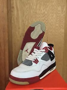 sale retailer 3dad0 74f2b Image is loading AIR-JORDAN-4-RETRO-GS-MARS-BLACKMON-308498-