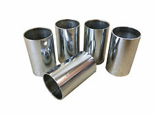 SILVER PLATED PLAIN WALKING STICK CANE COLLARS QTY 1