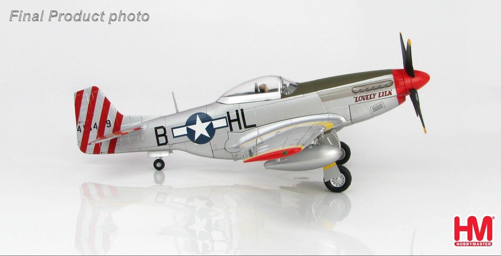 1 48 HOBBYMASTER USAAF P-51D Mustang American Beauty métal HA7739 avion