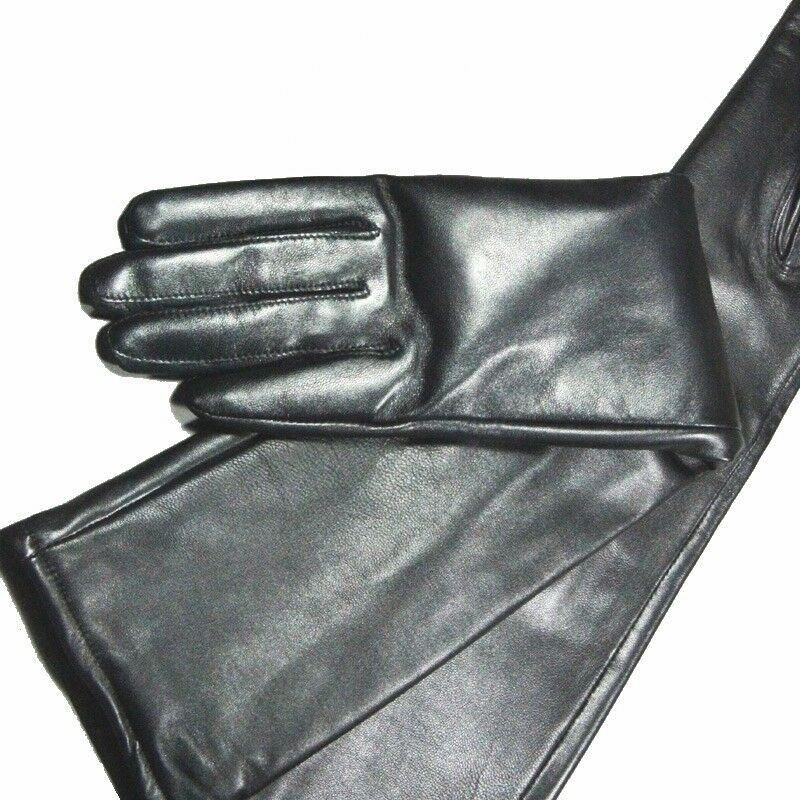 Men/'s Genuine Sheepskin long Gloves Customizable gloves size S//M//L//XL//2XL//3XL