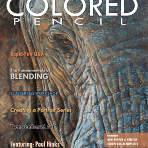 Image Is Loading Colored Pencil Magazine November 2018 Featuring Artist Paul