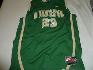 huge selection of 76019 a2d50 Details about LEBRON JAMES IRISH ST VINCENT MARY HIGH SCHOOL CLEVELAND CAVS  NIKE JERSEY XXL 23