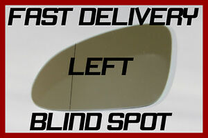 VAUXHALL ASTRA J MK6 1.4 T 09.2009 DOOR MIRROR GLASS BLIND SPOT HEATED RIGHT