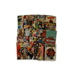 50-Comic-Book-bundle-lot-50-Marvel-Premium-Comic-Collection