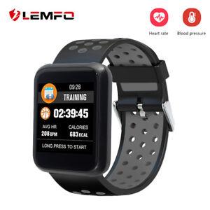 LEMFO-Smart-Armband-Puls-Uhr-Herzfrequenz-Blutdruck-Fitness-Tracker-Smartwatch