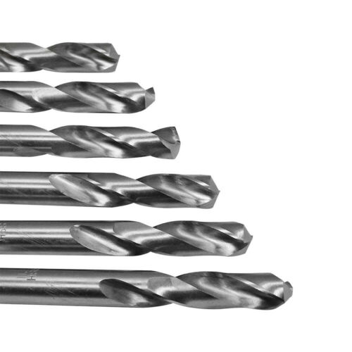 High Speed Steel Twist Straight Shank 6 PC 8.2mm HSS Screw Machine Drill Bits