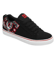 Dc - Court Vulc Se Mens Skate Shoes (new) Sizes 7-12 Record Print Free Shipping