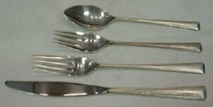 4pc My Love By Wallace Sterling Silver Regular Size Setting s