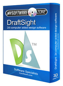Image is loading DraftSight-2017-2D-CAD-Uses-AutoCAD-DWG-File-