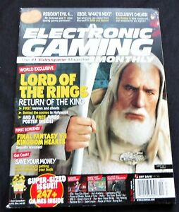 Electronic Gaming Monthly December 2003 #173 With Poster & Plane Set  eBay