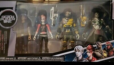 Funko Ready Player One Art3mis and i-R0k 4 Action Figures Set Parzival Aech