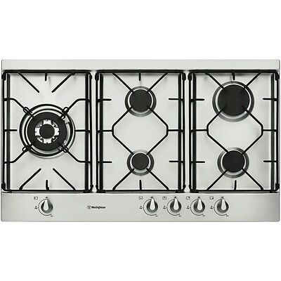 NEW Westinghouse WHG952SA 90cm Gas Cooktop