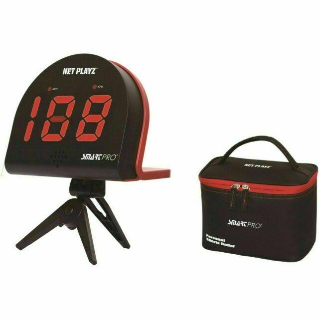 Net Playz Speed Radar Smart Pro Geschwindigkeitsmessger/ät Schwarz M