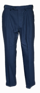 Men-039-s-New-m-amp-s-Formal-Suit-Pantalon-Taille-30-32-34-36-38-40-42-034-laine-melangee-Bleu