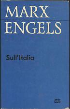 Marx, Engels: Sull'Italia