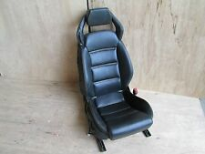 Lamborgini Gallardo 05 RH Passenge Seat w/ Motor Black Yellow Stitch 400881004A