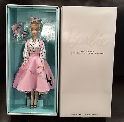 Soda Shop Barbie Vintage Look Pink Poodle Skirt Petticoat Sundae IN SHIPPER