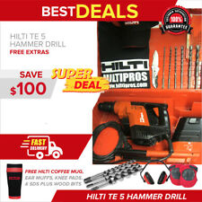 Hilti Te 5 Hammer Drill With Drs Vacuum 230 Voltsmade In Germany Fast Ship