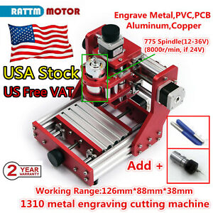 image is loading usa-1310-mini-cnc-router-metal-cutting-pcb-