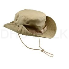 61f77c348b5 Bucket Hat Boonie Hunting Fishing Outdoor Men Cap Washed Cotton NEW W   STRINGS