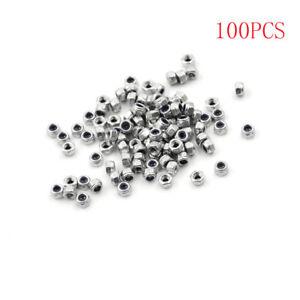 100pcs-M3-x-0-5mm-Stainless-Steel-Nylock-Nylon-Insert-Hex-Self-locking-Nuts-ML