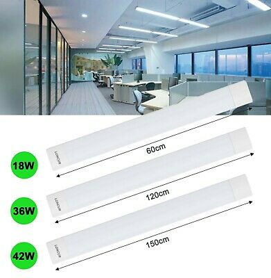 LED 36W Werkstatt Halle Feucht Raum Wannen Leuchte IP65 Decken Beleuchtung 120cm