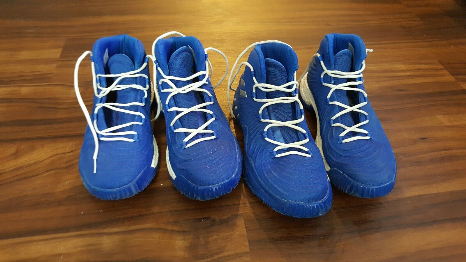Adidas BY3770 Basketball shoes Crazy Explosive 2017 Royal blueee White 14.5 15