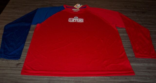 4b651837ac9 LOS ANGELES CLIPPERS NBA BASKETBALL Long Sleeve JERSEY SHIRT XL NEW w/ TAG