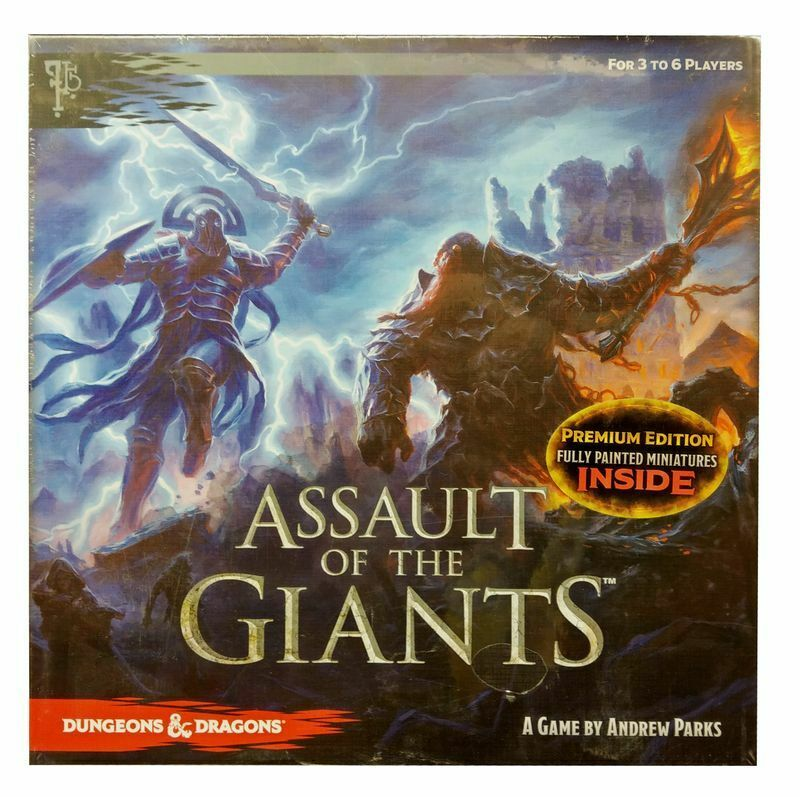 Dungeons e  DRAGONS-Assault of the Giants Premium edizione-inglese  sport caldi