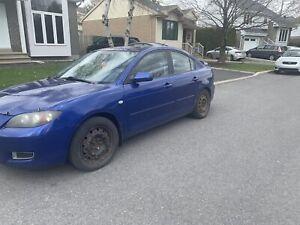 Mazda 3 2008 manuelle