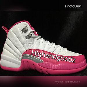 buy popular 31a96 44204 Image is loading Nike-Air-Jordan-12-Retro-XII-GG-034-