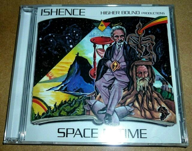 Ishence - Space N Time / CD / 2007 / OVP Sealed / Higher Bound / Reggae / Roots