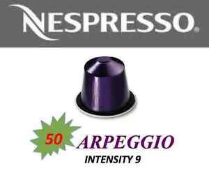 stockup special 50 arpeggio nespresso capsule bnib while stock