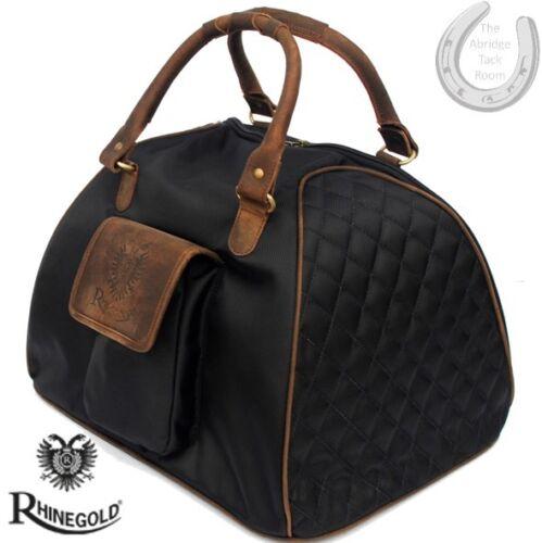 Storage Riding Hat Bag *NEW* Rhinegold Elite Luggage BLACK Travelling