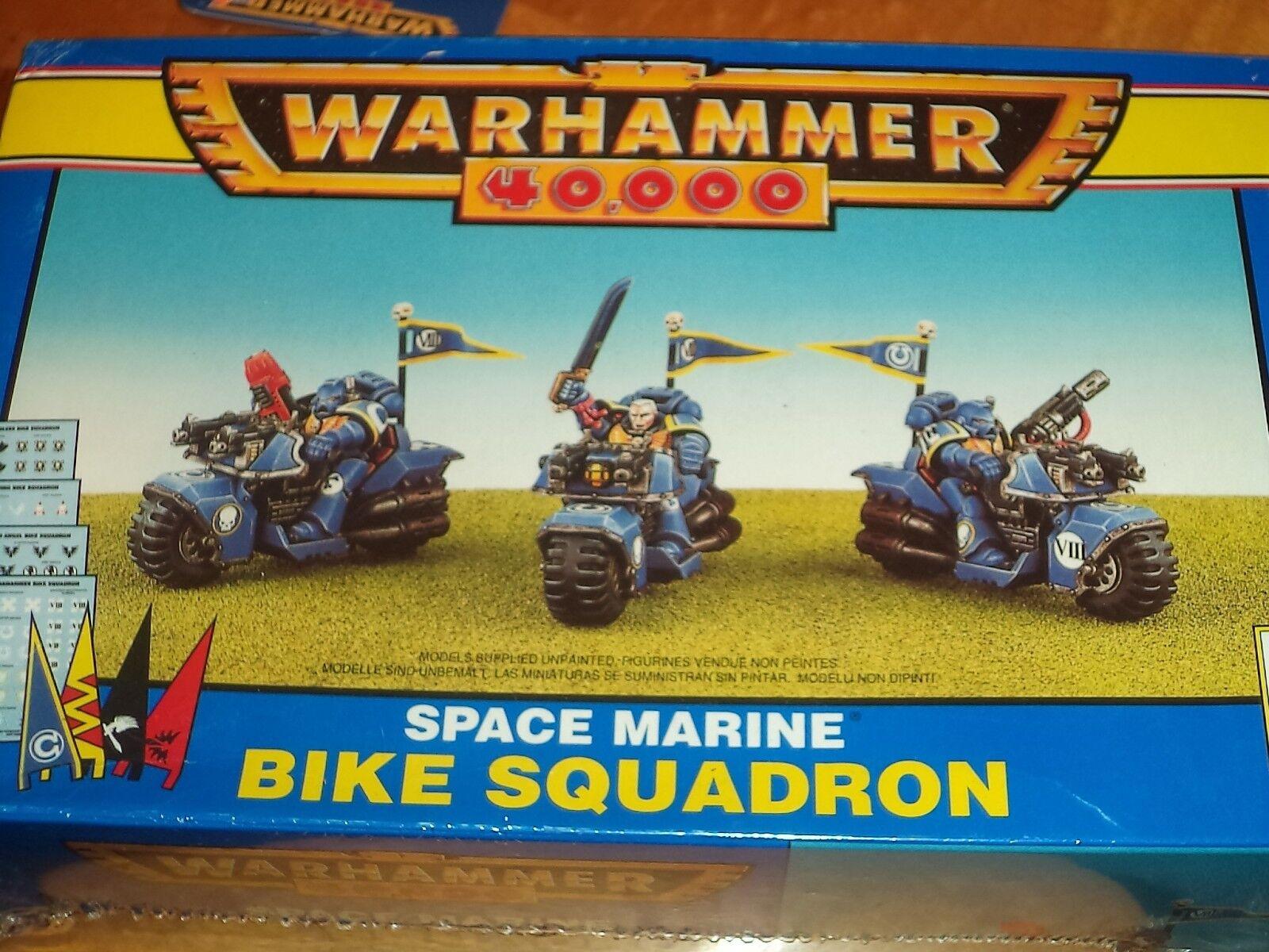 Space Marine Bike Squadron Squad Warhammer 40k 40,000 Games Workshop Model New