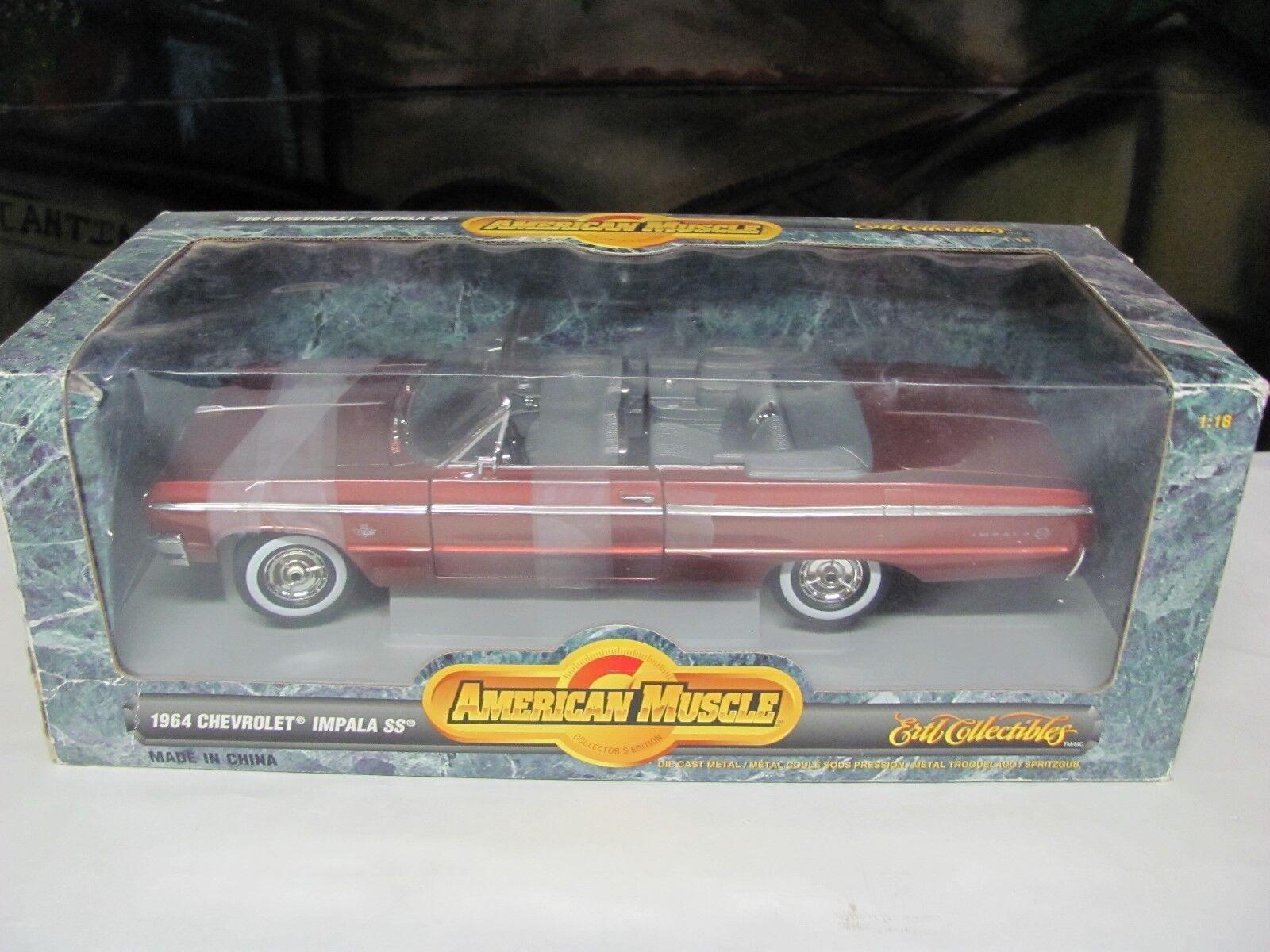 Ertl 1 18 American Muscle 1964 Chevy Impala SS 409