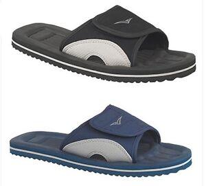 8c8e3fe705e82 Image is loading Mens-Flip-Flop-Slippers-Bathroom-Waterproof-Beach-Holiday-