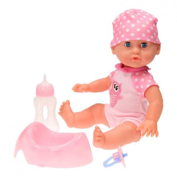 2019 Nuovo Stile Baby Doll 35 Cm Bere & Bagnato Bambola Con Potty Pannolino Biberon Ciuccio I Prodotti Sono Venduti Senza Limitazioni