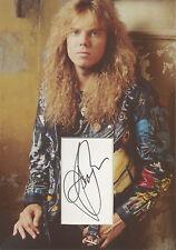 JOEY TEMPEST Signed 12x8 Photo Display EUROPE COA